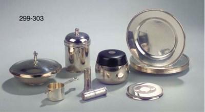 A Danish silver measure spoon