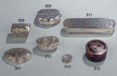 A Dutch silver tobacco-box
