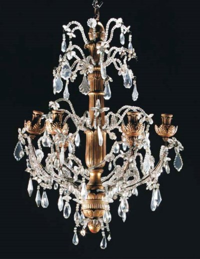 A NORTH ITALIAN GILTWOOD AND G