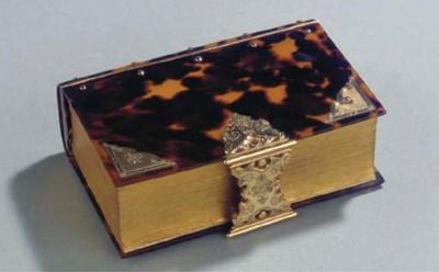 A Dutch tortoise-shell bible w