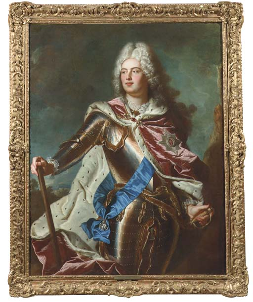 Manner of Hyacinthe Rigaud