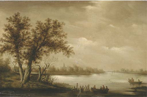 Manner of Salomon van Ruysdael