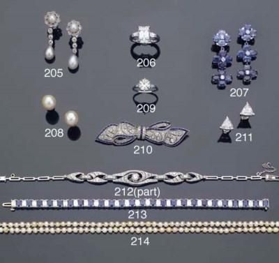 A DIAMOND BRACELET AND RING