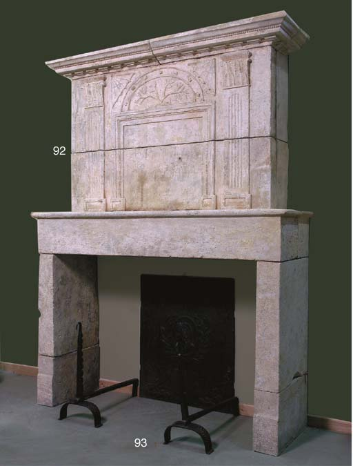 A French provincial limestone