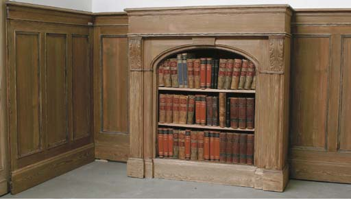 A German pinewood wall panelli