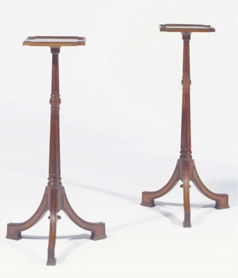A matched pair of Dutch mahoga