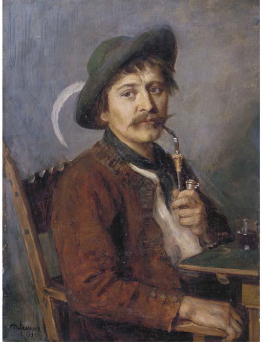 Franz von Defregger (Austrian,