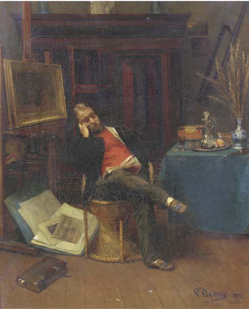Pieter Oyens (Dutch 1842-1894)