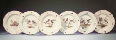 Six Ludwigsburg ornithological