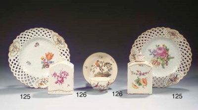 A set of two Meissen Marcolini