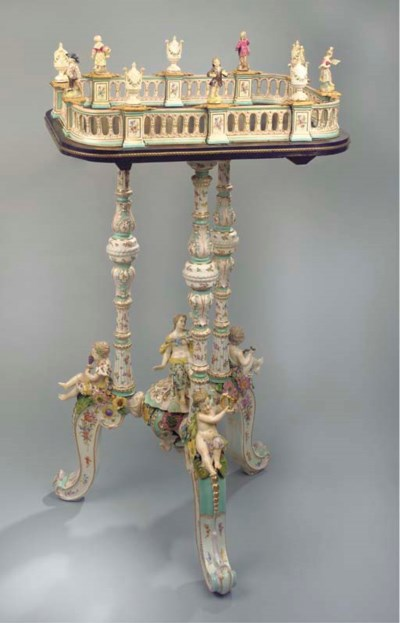 A large Thuringian Meissen-sty