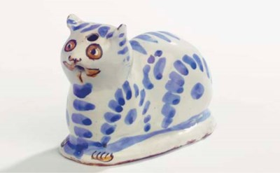 A French faience polychrome mo