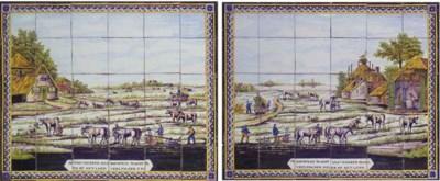 A pair of Utrecht rectangular