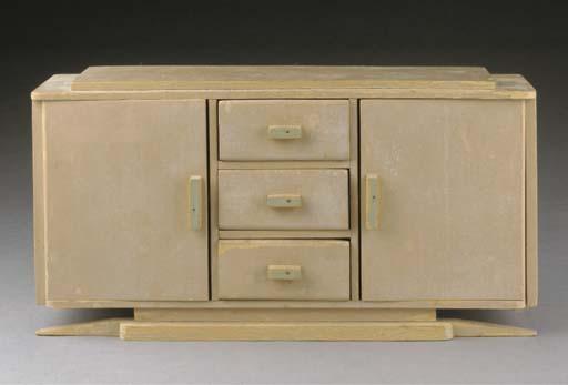 A miniature cupboard