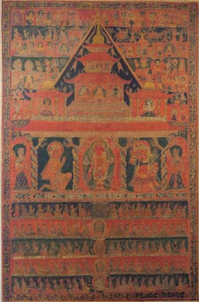 A Nepalese paubha on cloth dep