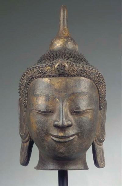 A Burmese, Mandalay style, gil