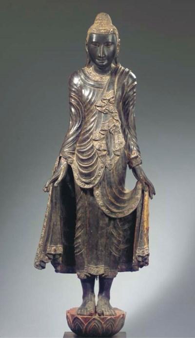 A Burmese, Mandalay style, bla