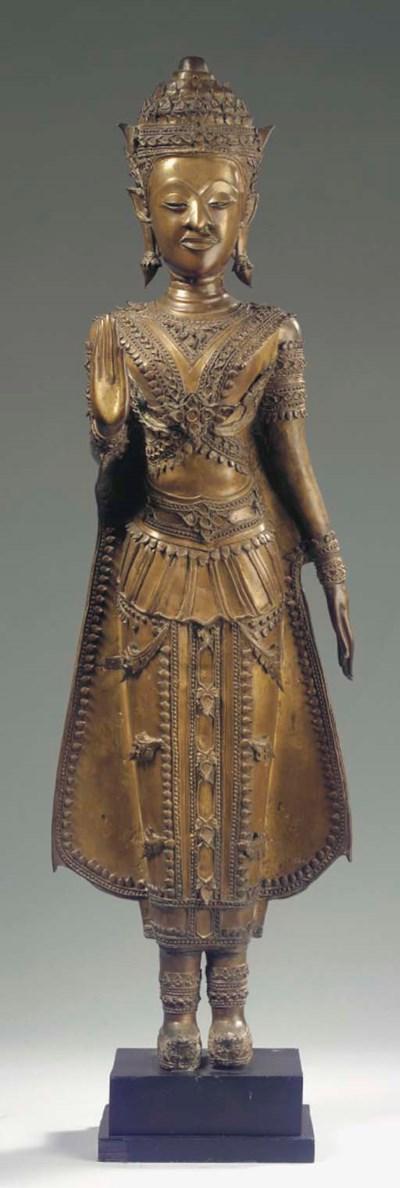 a thai, ratnakosin style, bron