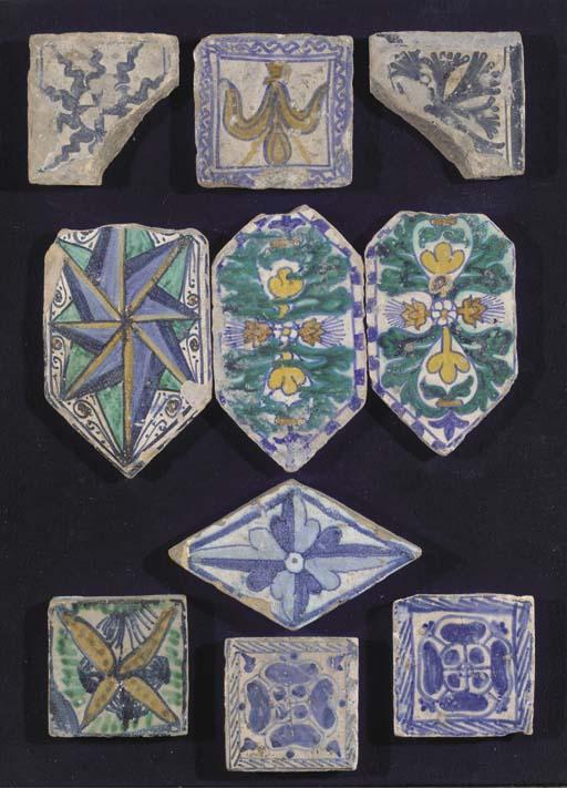 Ten various Italian early floo