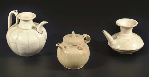 (3) A Chinese Qingbai glazed l