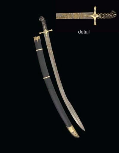 AN OTTOMAN SWORD (KILIJ)