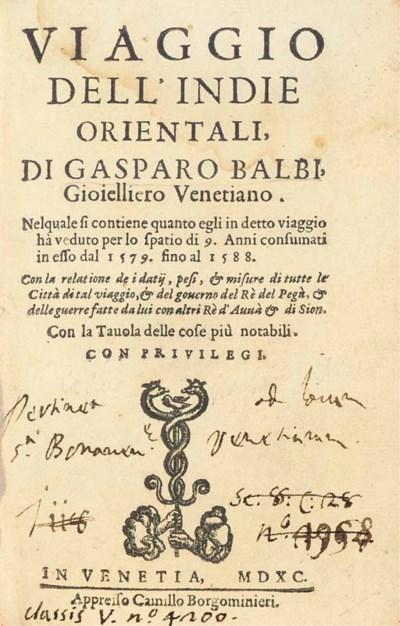 GASPARO BALBI (1579-1588)