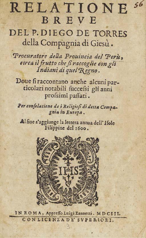DIEGO DE TORRES BOLLO (1551-16