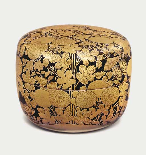 A rare natsume [powdered tea c