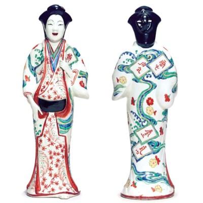 A kakiemon figure