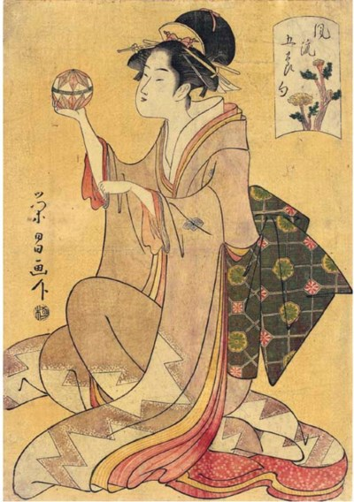 Chokosai Eisho (fl. c. 1790s)