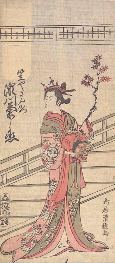 Torii Kiyotsune (fl. 1757-1779
