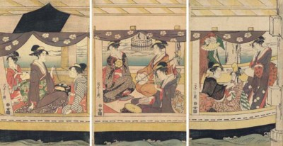 Chobunsai Eishi (1756-1827)