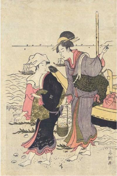 Tamagawa Shucho (fl. c. 1790-1