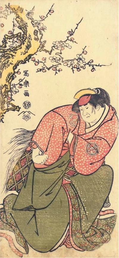 TOSHUSAI SHARAKU (fl. 1794-179