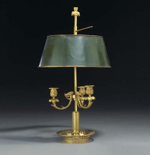 A FRENCH ORMOLU AND TOLE BOUIL