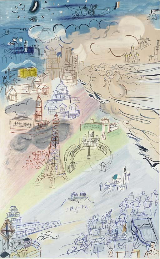 After Raoul Dufy by Charles So