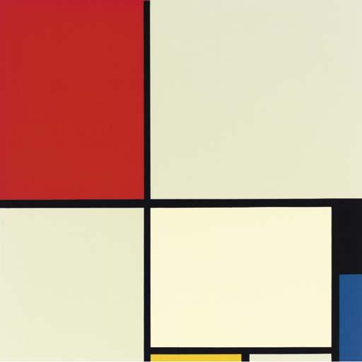 After Piet Mondrian (1872-1944