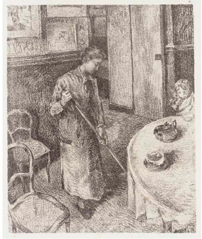After Camille Pissarro (1831-1