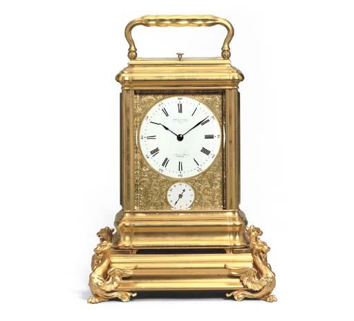 A fine French gilt-brass giant