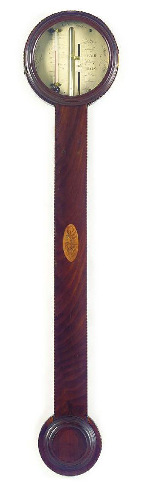 An unusual Regency mahogany st