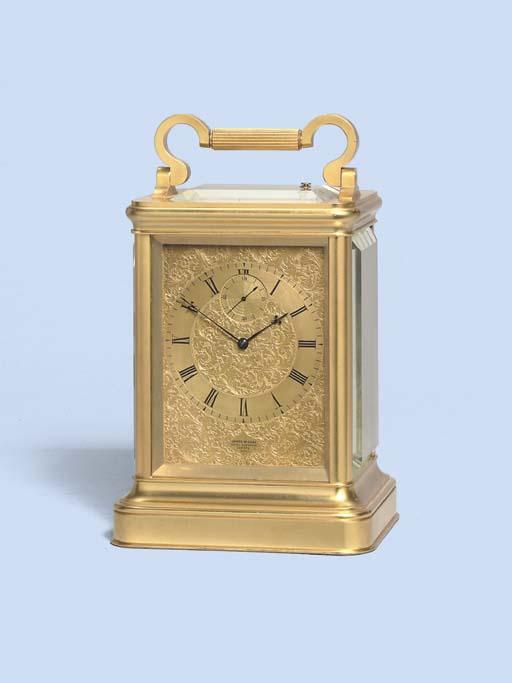 An Early Victorian gilt-brass