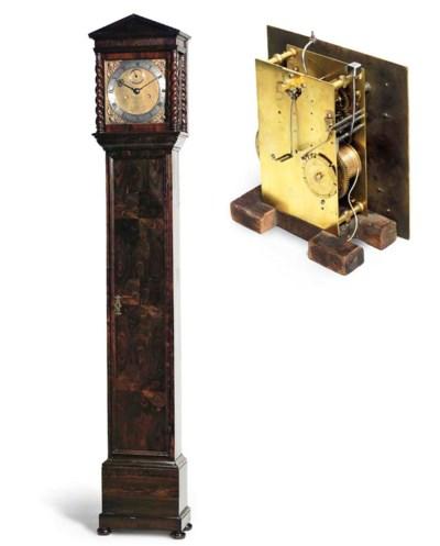 A kingwood veneered longcase c