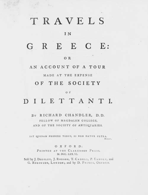 RICHARD CHANDLER (1737?-1810)