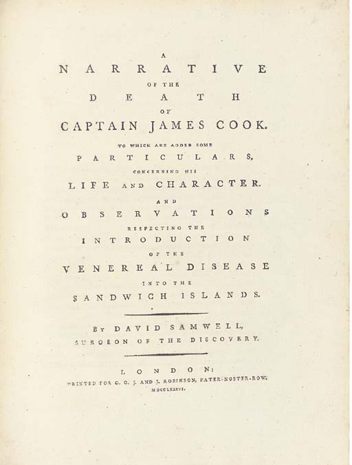 DAVID SAMWELL (1751-1798)