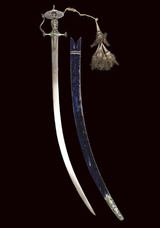 A MUGHAL SWORD (TULWAR) WITH E