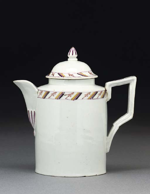AN EISENBERG TEAPOT AND COVER
