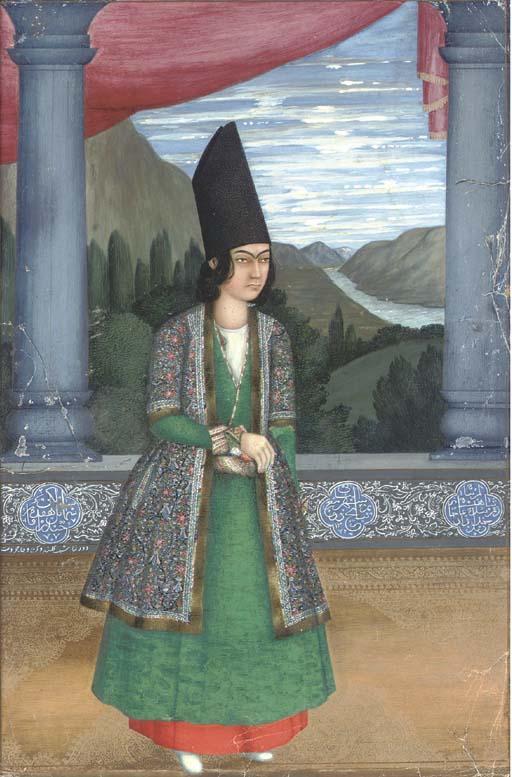 PORTRAIT OF HAYDAR AQA