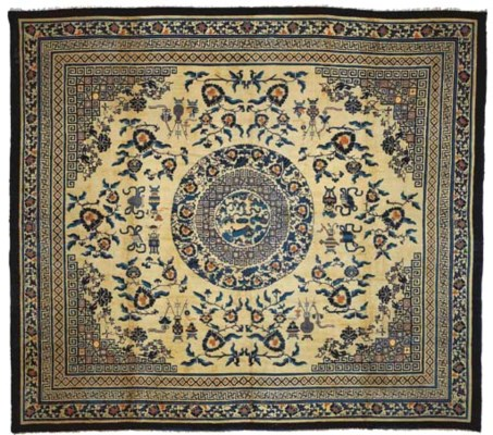 A LARGE CHINESE CARPET