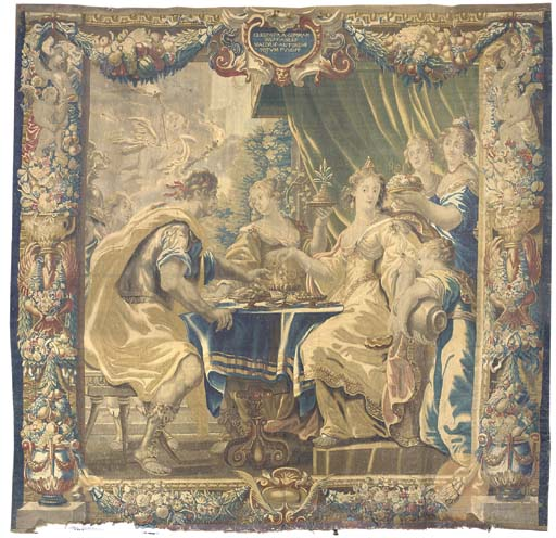 A BRUSSELS BAROQUE HISTORICAL TAPESTRY