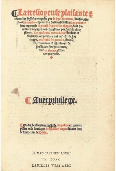 MAILLES, Jacques de. La tres i